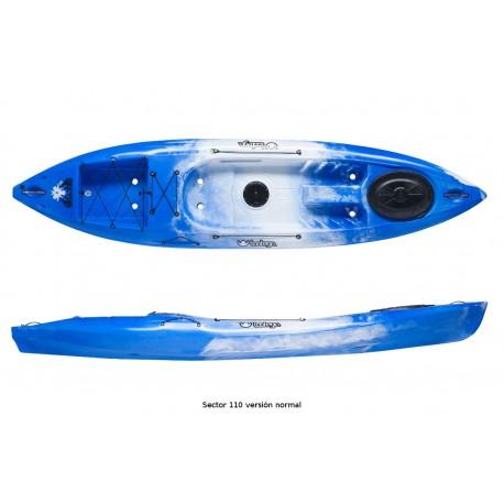 Kayak Sector 110 Pesca Tootega