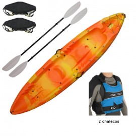 Pack kayak doble Oceanus