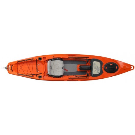 Kayak Lure 13.5 timón Feelfree