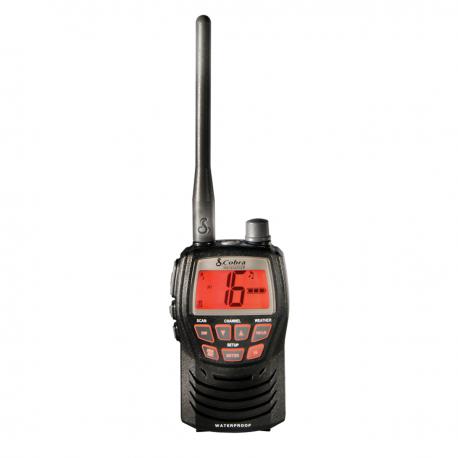 Emisora Portatil VHF MRHH 125VP EU Cobra