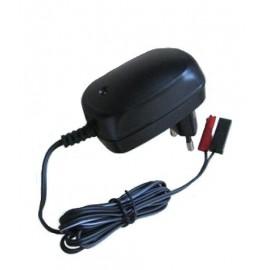 Cargador baterías 12V/0.8A Portear
