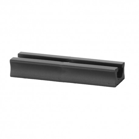 Rail PVC 40cm negro Scotty