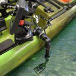 Sonda instalada en kayak con raíles
