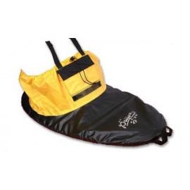 Cubrebañeras negro/amarillo Prijon