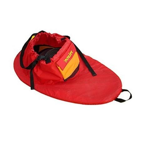 Cubrebañeras nylon Rojo Prijon