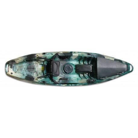Kayak Moken 10 Pesca Deluxe Feelfree