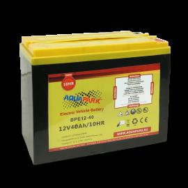 Batería 12V/40A Aquaparx - descatalogado