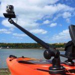 Camera Boom 600 de Railblaza con cámara GoPro
