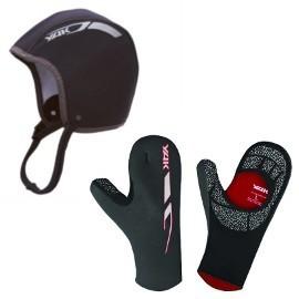 Gorros y guantes